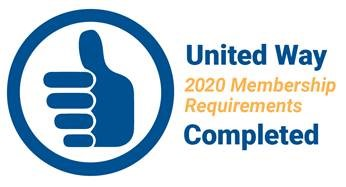 United Way membership stamp